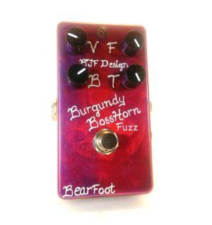 burgundy bosshorn silicon fuzz